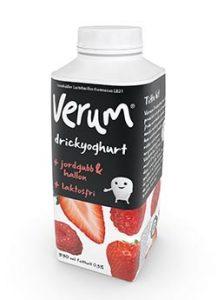 Norrmejerier Verum laktosfri drickyoghurt