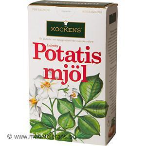 innehåller potatismjöl gluten