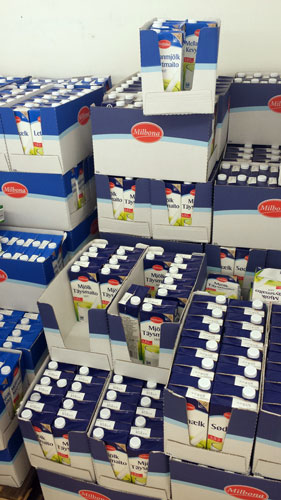 UHT mjölk ifrån Lidl
