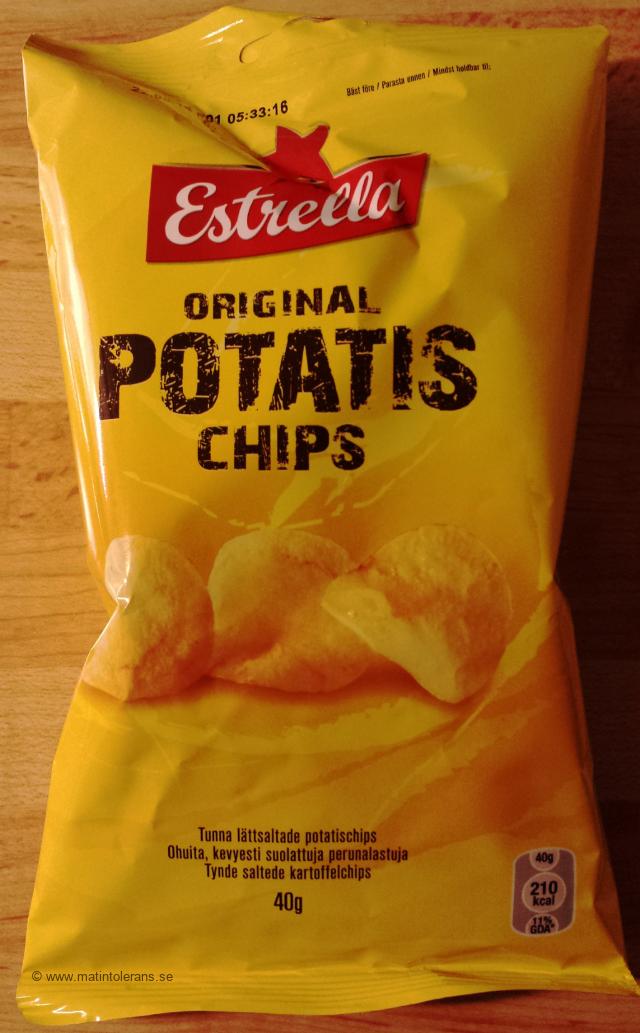 Estrellas salta chips