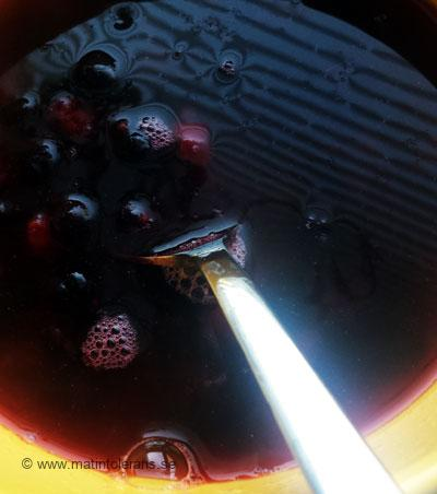Test: Kokta svarta och röda vinbär