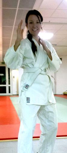 Blogginlägg: Jujutsu Kai i en riktig Gi