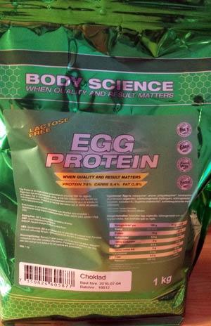 Test: Body Science ägg proteinpulver