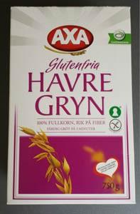 Axas glutenfria havregryn