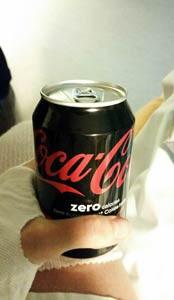 Coca-Cola Zero efter operation