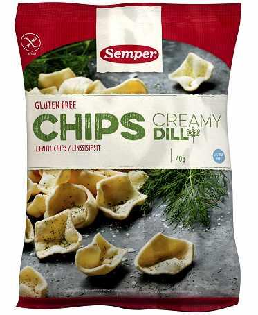 Mattips: Semper lanserar glutenfria chips