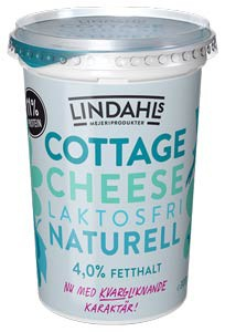 Lindahls laktosfria Cottagte Cheese