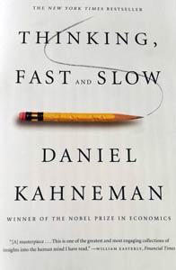Blogginlägg: Ny bok att läsa – Thinking fast and slow, Daniel Kahneman