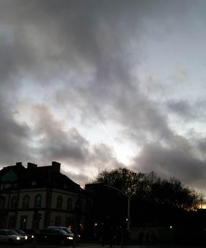 vinter himmel