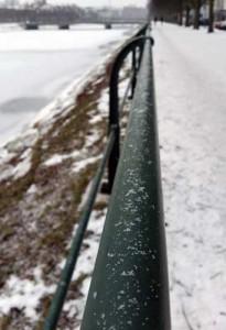 Vinter vid kanalen