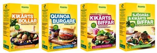 Mattips: Risenta lanserar glutenfria ekologiska veganska mixer