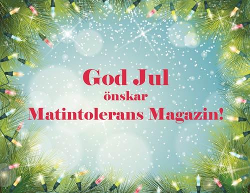 Nyhet: Jul och nyårsuppehåll