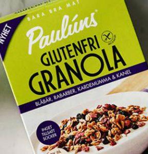 pauluns granola innehållsförteckning