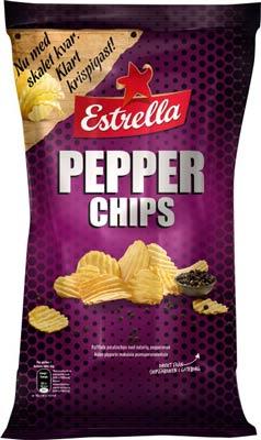 Matvarning: Estrella återkallar mindre parti Pepparchips som kan innehålla mjölkprotein