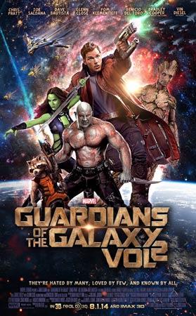 Blogginlägg: Äntligen är väntan över – Guardians of the Galaxy vol 2 är här!