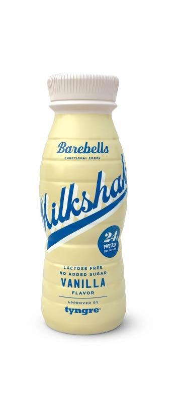 Mattips: Ny laktosfri vanilj milkshake ifrån Barebell