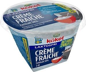 """Matvarning: Arla återkallar """"laktosfri"""" Créme Fraiche"""