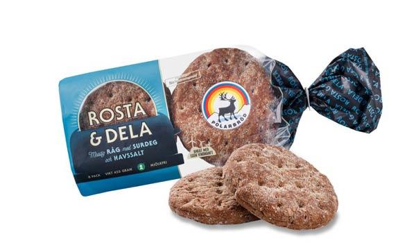 Mattips: Mjölkfritt bröd ifrån Polarbröd, rosta och dela