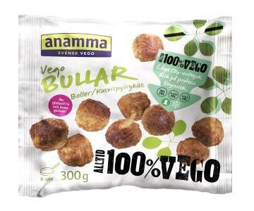 Mattips: Glutenfria, äggfria och mjölkfria veganska alternativ ifrån Anamma