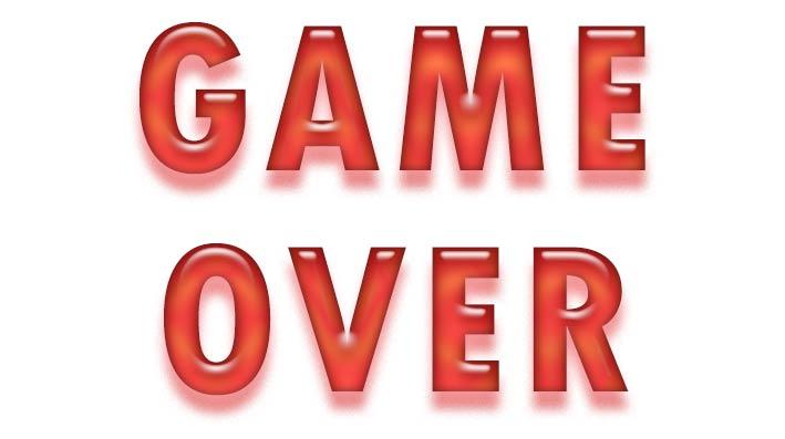 """Blogginlägg: """"Game Over"""" ungefär så sade min kropp och knopp igår"""