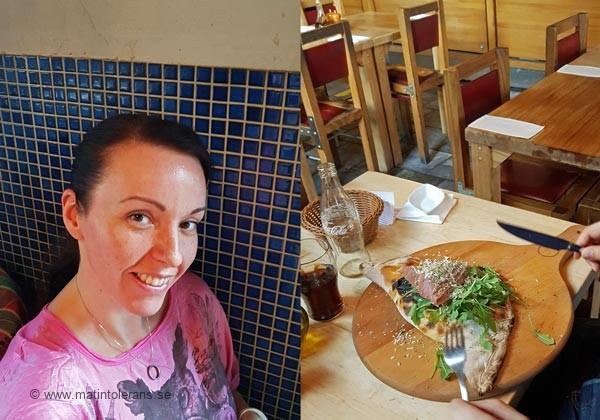 Blogginlägg: Framsteg – jag vågar sitta på en pizzeria