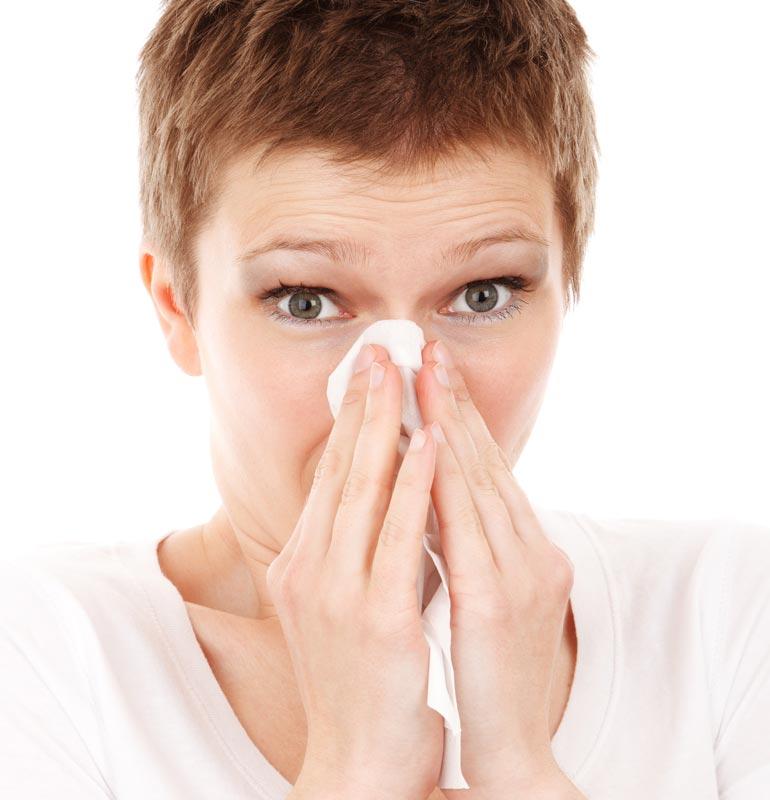 Tema, pollenallergi: Förutom med hjälp av läkemedel hur kan man lindra symptomen?