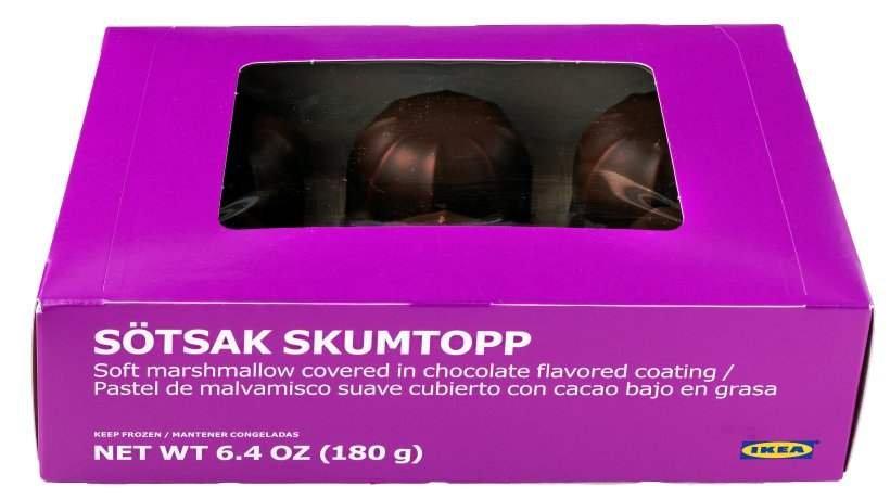 Återkallelse: SÖTSAK SKUMTOPP marshmallowbakelse, IKEA