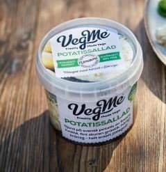 Mattips: Äggfri och mjölkfri potatissallad – VegMe