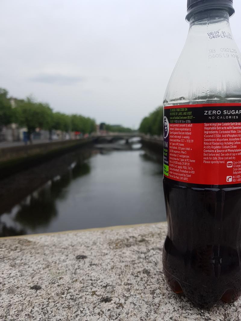 Blogginlägg: Tur att Coca-Cola Zero finns i nästan alla länder