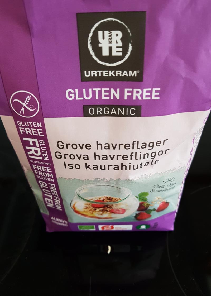 Blogginlägg: Provat Urtekram glutenfria havregryn