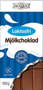 Jacquot mjölkchoklad laktosfri
