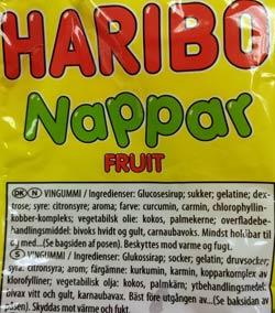 haribo-nappar-ingrediensforteckning