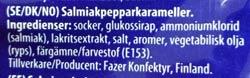 Turkisk peppar innehållsförteckning