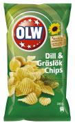 OLW dill och gräslöks chips