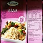 Råris ifrån Frebaco kan innehålla spår av gluten