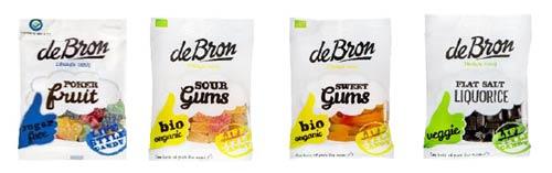 Mattips: deBron utökar sitt gluten- och laktosfria godis sortiment