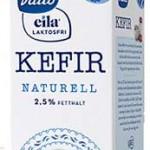 Nyhet: Valio Kefir laktosfri innehåller lika mycket laktos som vanlig Kefir