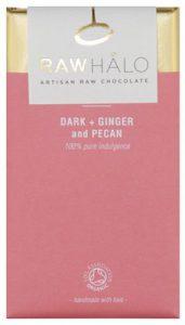 Raw Halo, dark ginger pecan