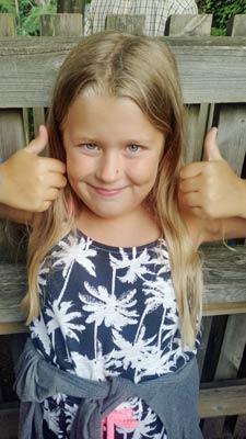 Intervju: Hur man upptäckte glutenintolerans hos en 7-årig flicka