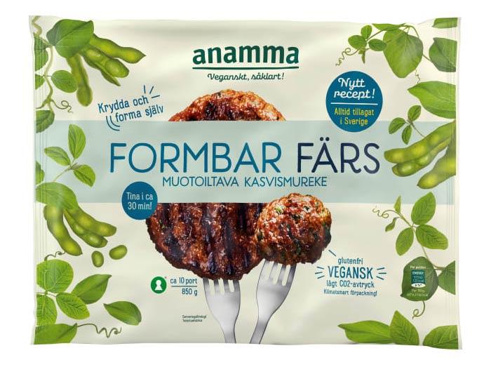 Mattips: Orkla introducerar ny vegansk formbar färs som är glutenfri