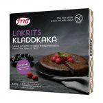 Mattips: Glutenfri, laktosfri, mjölkfri kladdkaka med lakritssmak ifrån Fria