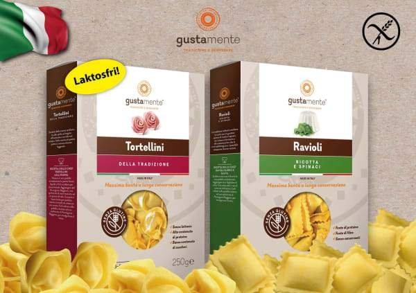 Mattips: Gustamente – Glutenfri pasta ifrån Italien