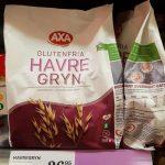 Nyhet: Axas glutenfria havregryn i butik igen