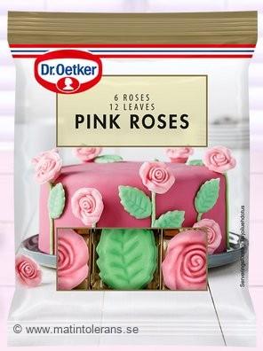 Återkallelser: Dr. Oetker återkallar Choco Roses and Leaves & Pink Roses – innehåller spår av mandel