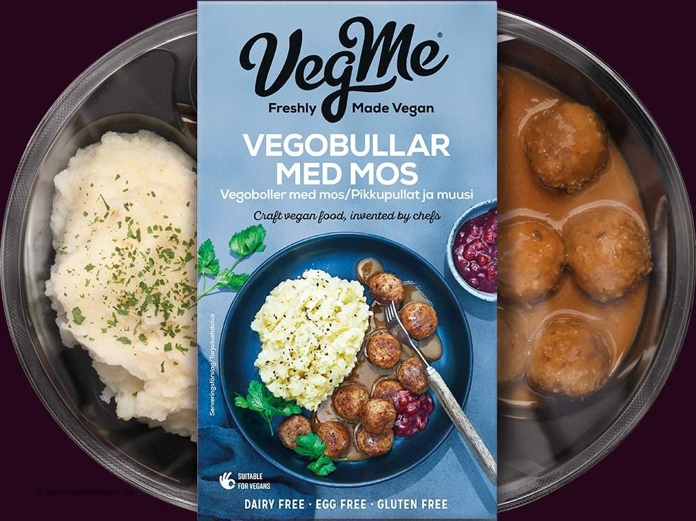 Återkallelser: Bama Foods återkallar VegMe Vegobullar med mos – innehåller sojaprotein